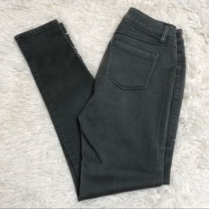 CAbi gray skinny jeans pants bottoms Sz 4